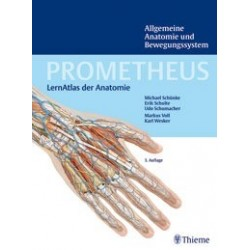 PROMETHEUS Atlas of Anatomy vol. I General Anatomy and Musculoskeletal System, english, latin nomenclature