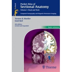 Pocket Atlas of Sectional Anatomy, Volume 1: Head and Neck