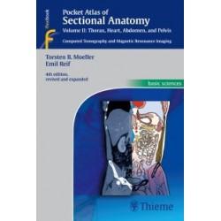 Pocket Atlas of Sectional Anatomy, Vol. 2: Thorax, Heart, Abdomen and Pelvis