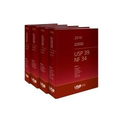 USP39-NF34 The United States Pharmacopoeia and National Formulary 2016. Main edition plus Supplements 1 and 2, wersja PRINT