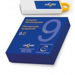Farmakopea Europejska / European Pharmacopoeia 9th Edition 2017. Main volume 9.0. + Suppl. 9.1. + Suppl. 9.2. Wersja: USB-Stick
