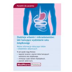 Złodzieje witamin i mikroelementów: leki hamujące wydzielanie soku żołądkowego