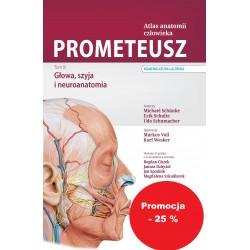 PROMETEUSZ. Atlas Anatomii Człowieka Tom III. Głowa, szyja i neuroanatomia. Nomenklatura łacińska