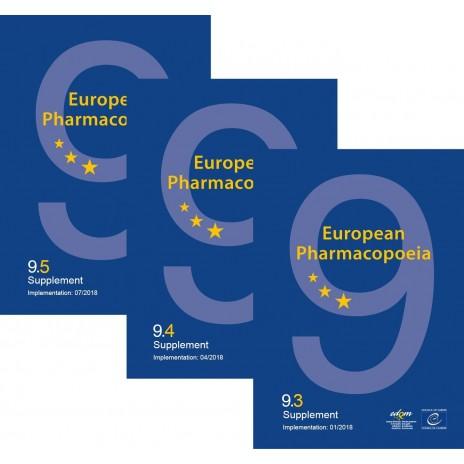European Pharmacopoeia, 9th edition 2017 (9.3-9.5.) PRINT