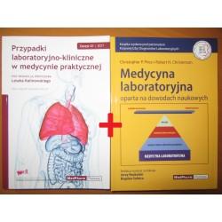PAKIET - Przypadki laboratoryjno-kliniczne + Medycyna laboratoryjna oparta na dowodach naukowych