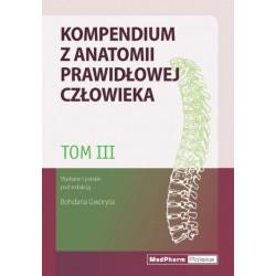 Kompendium z anatomii prawidłowej człowieka. Tom III