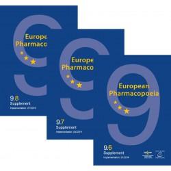 European Pharmacopoeia, 9th edition 2017 (9.6-9.8.) PRINT