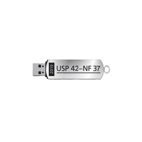 USP 42- NF 37 United States Pharmacopeia and National Formulary, wersja USB-Stick